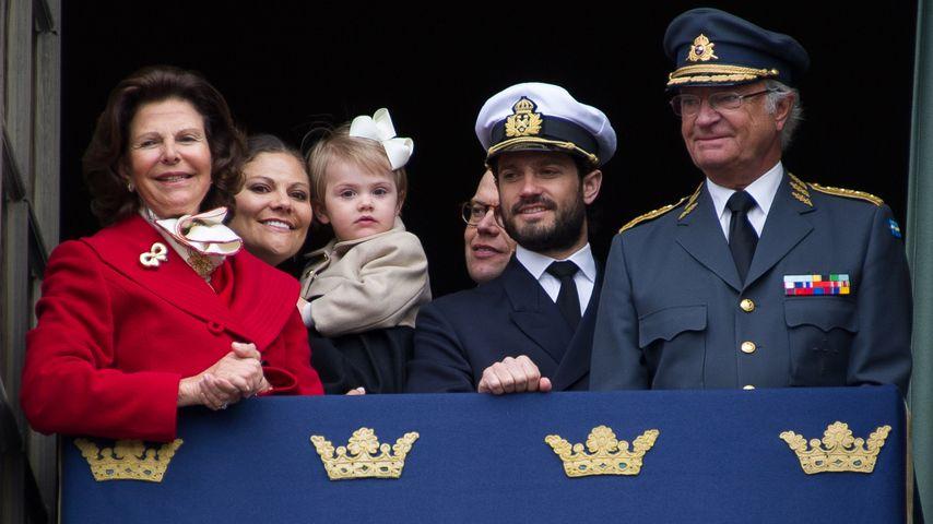 Prinz Carl Philip von Schweden, Prinzessin Estelle von Schweden, Prinzessin Victoria von Schweden, P