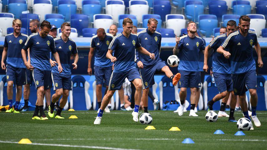 Schwedische Nationalmannschaft Aufstellung