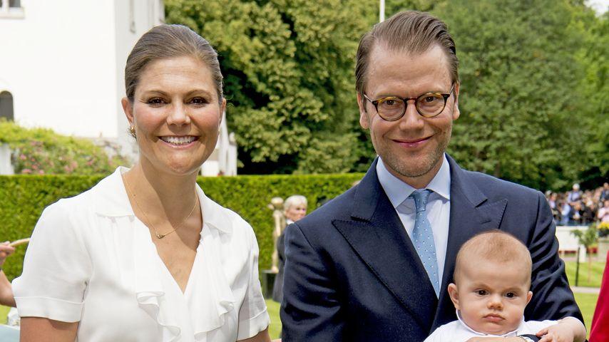 Victoria von Schweden, Estelle von Schweden, Daniel von Schweden, Oscar von Schweden