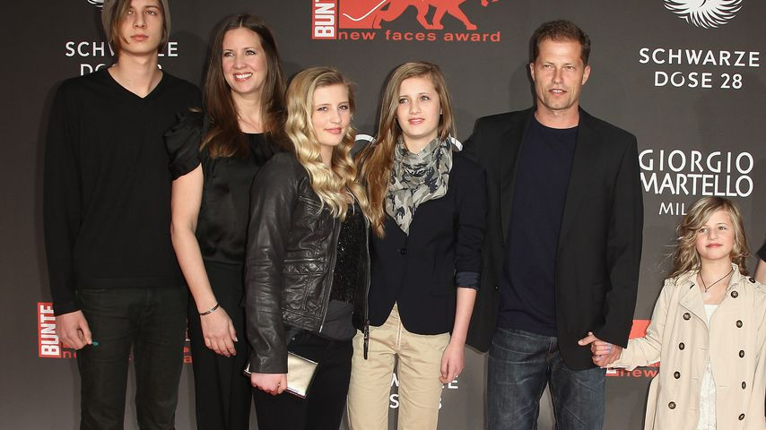 Familie Schweiger bei den New Faces Awards 2011