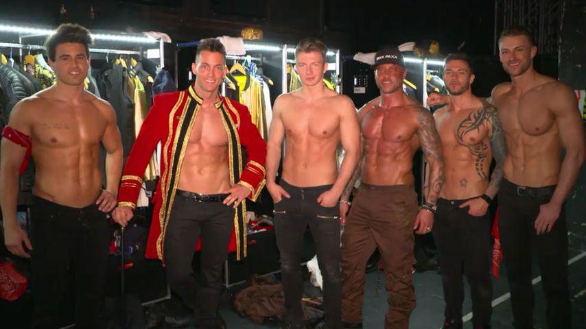 Nackte Überflieger: Men-Stripper Sixxpaxx feiern Mega-Erfolg