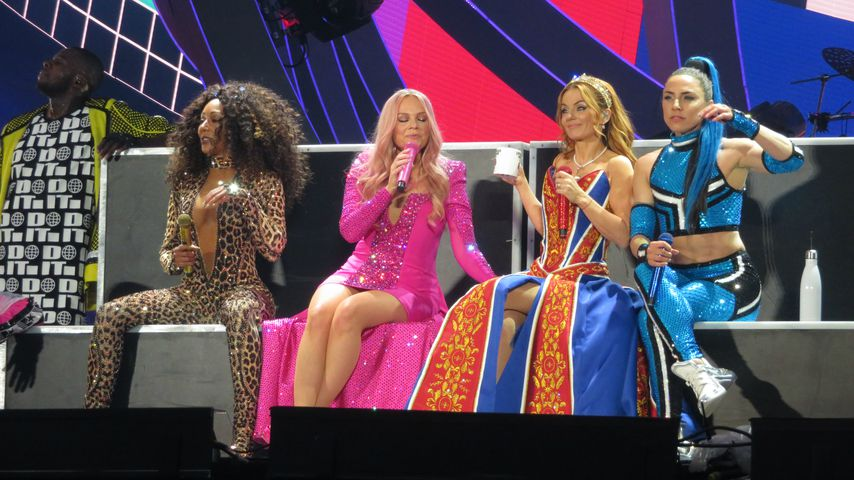 Spice Girls auf ihrer Reunion-Tour in Dublin