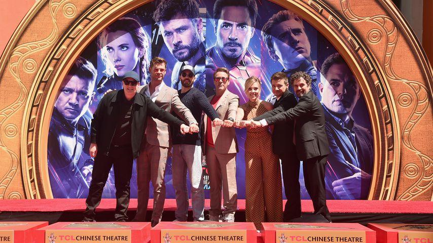 """Die Stars von """"Avengers: Endgame"""" vor dem TCL Chinese Theatre in Hollywood"""