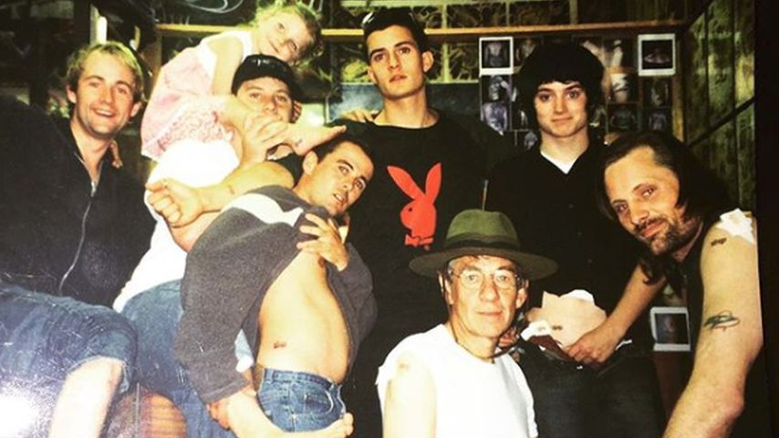 Billy Boyd, Dominic Monaghan, Orlando Bloom, Ian McKellen, Elijah Wood und Viggo Mortensen