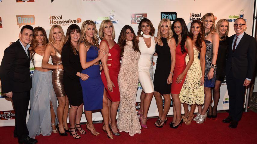 "Die Stars von ""The Real Housewives of Orange County"""