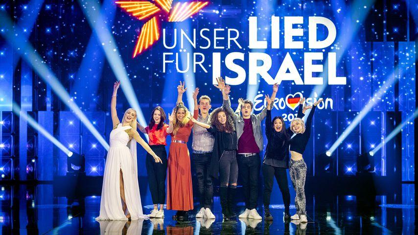 """Die Teilnehmer von """"Unser Star für Israel"""" 2019"""