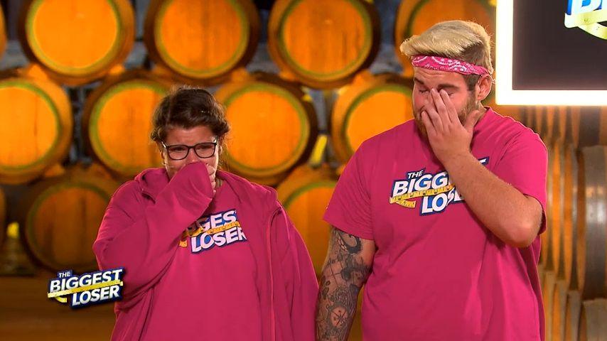 """Die """"The Biggest Loser""""-Kandidaten Jenny und Flo"""