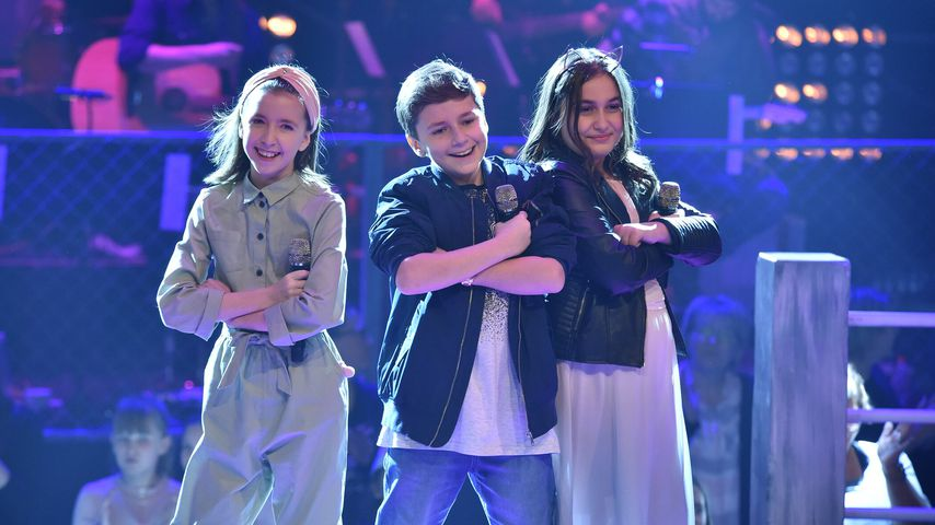 """Die """"The Voice Kids""""-Kandidaten Elin, David und Learta"""