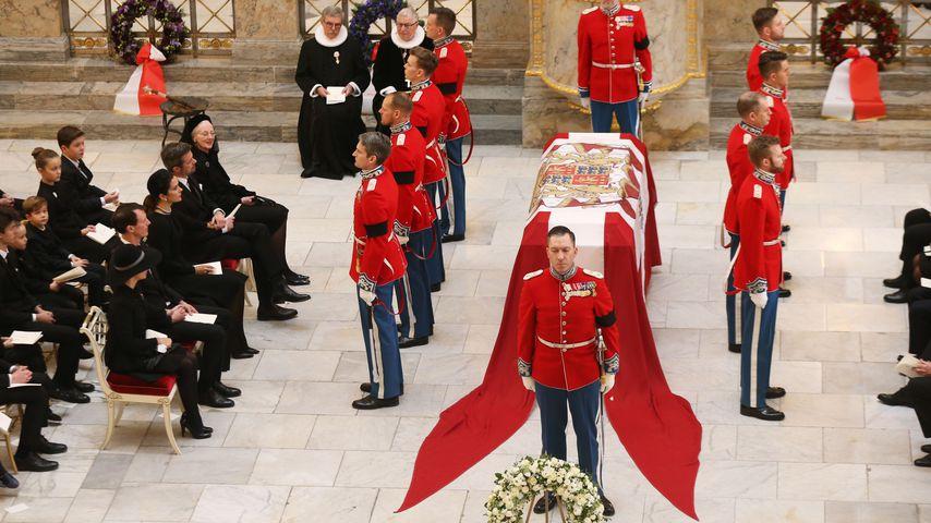 Die Trauerfeier für Prinz Henrik von Dänemark in Kopenhagen, Februar 2018