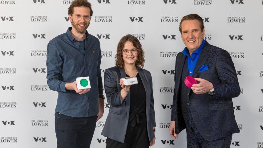 Die Udo-Gründer mit Ralf Dümmel