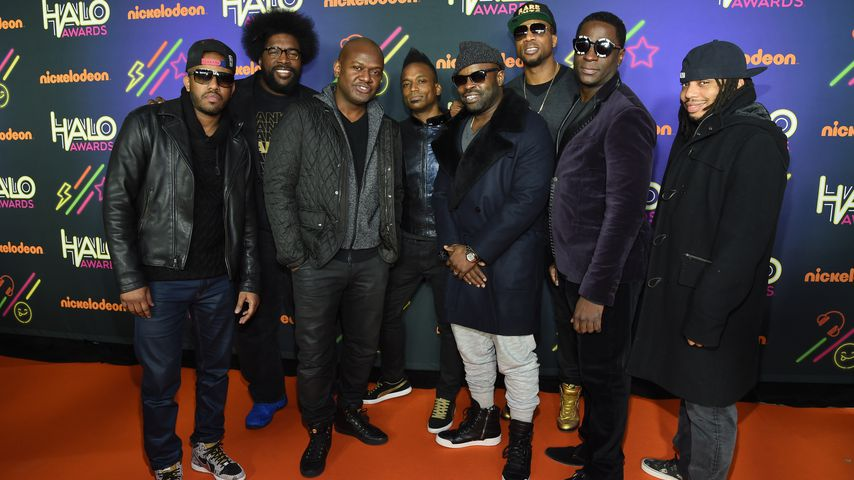 Die US-Band The Roots bei den Nickelodeon Halo Awards in NYC im November 2014