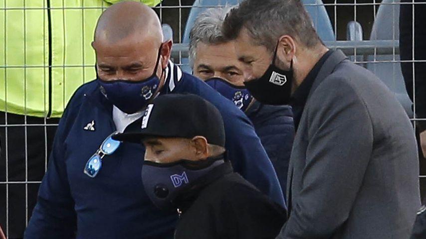 Diego Maradona am 30. Oktober 2020