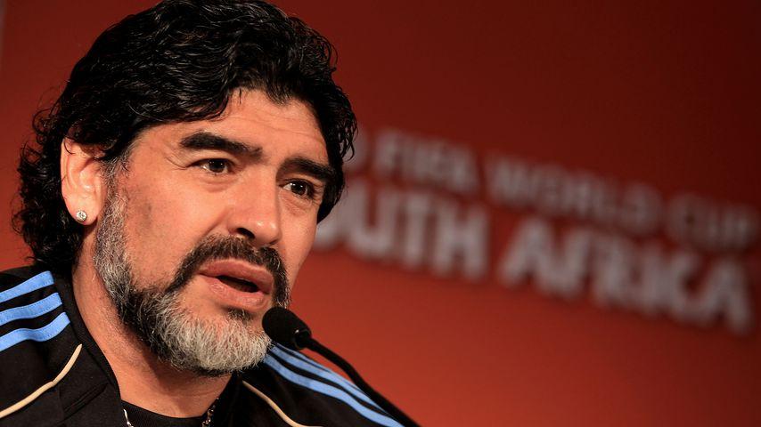 Diego Maradona, einstiger Profisportler