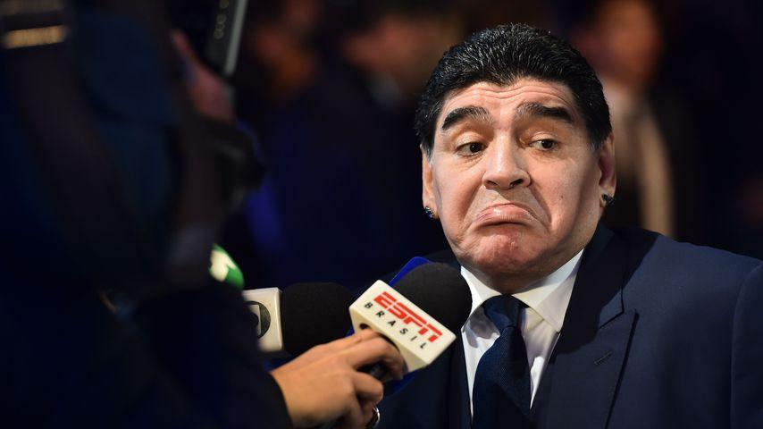 Kein Zutritt: Fußball-Held Maradona kam nicht ins WM-Stadion
