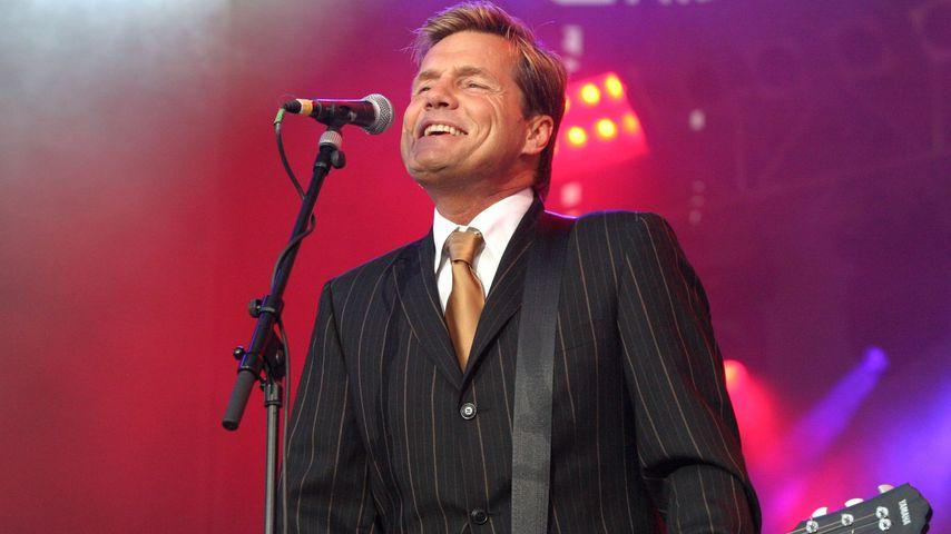 Dieter Bohlen beim Abschiedskonzert von Modern Talking 2003