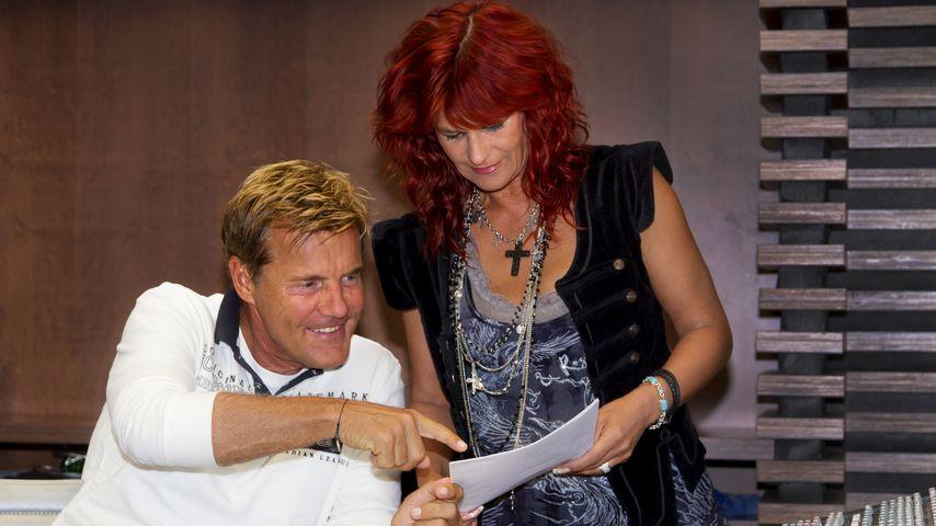 Dieter Bohlen und Andrea Berg im August 2011 in Handeloh