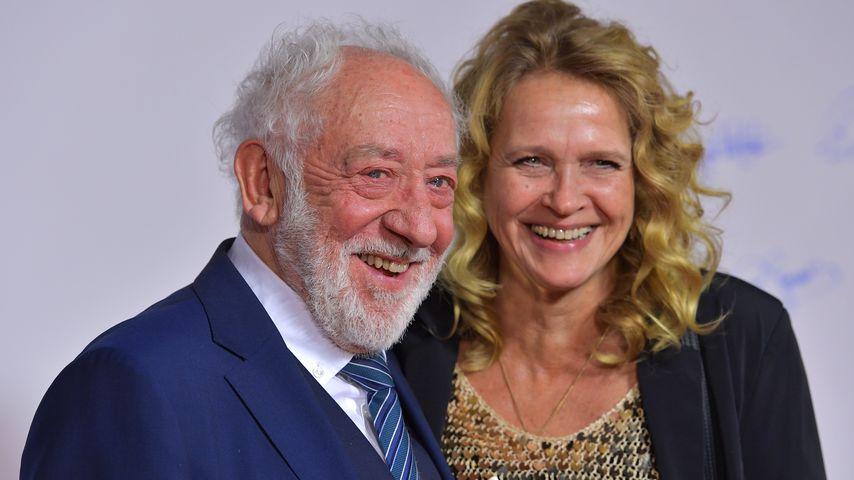 Dieter Hallervorden und Freundin Christiane Zander, 2018 in München