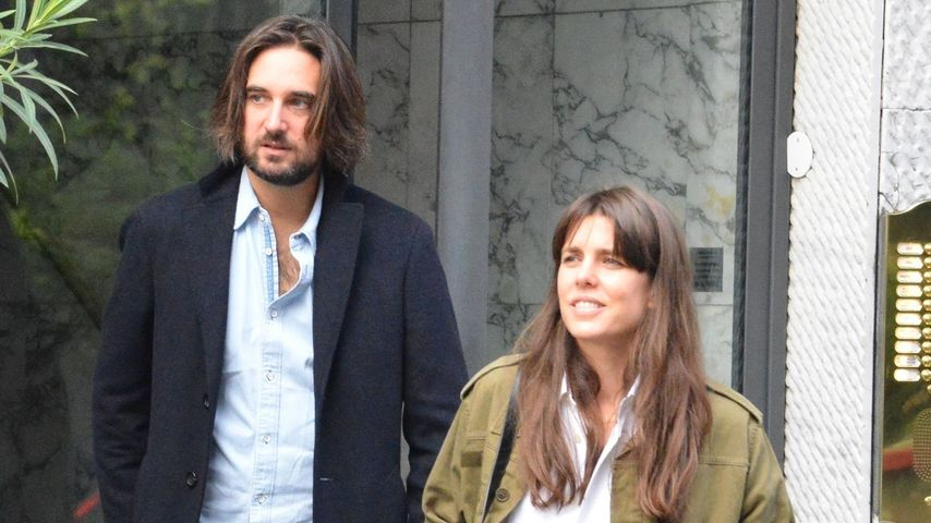 Dimitri Rassam und Charlotte Casiraghi, Oktober 2019