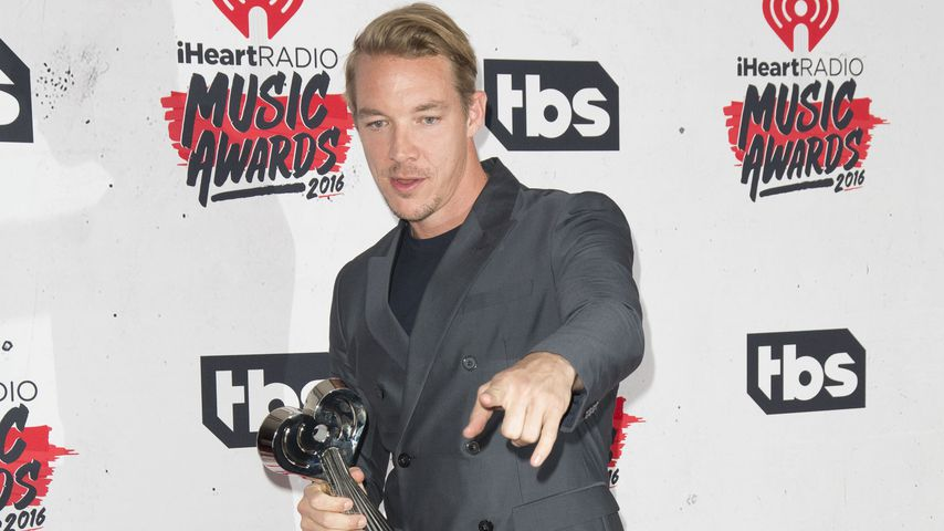 Diplo bei den iHeartRadio Music Awards 2016
