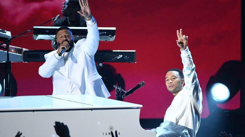 DJ Khaled und John Legend bei den BET Awards 2019