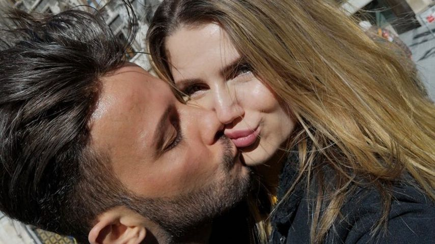 Domenico De Cicco und seine Freundin Julia