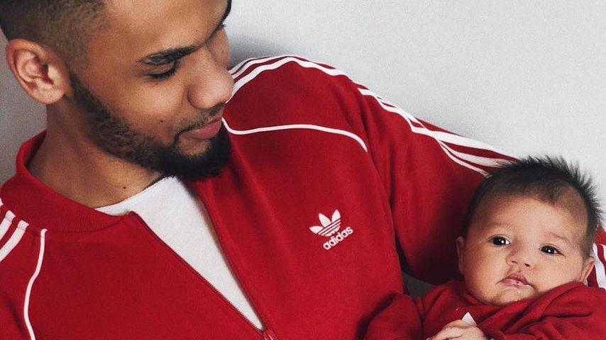 Dominic Harrison und Töchterchen Mia Rose