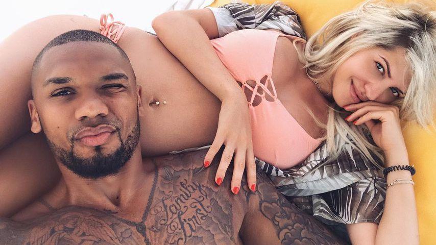Urlaub mit Babybauch: Sarah fühlte sich im Bikini pudelwohl