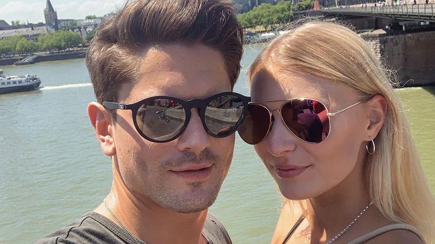 Dominik Bruntner und Jolina Fust 2019 in Köln