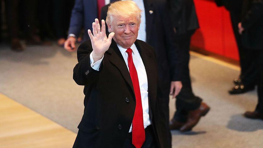 Donald Trump: Für sein Land macht er erstmal Schluss!