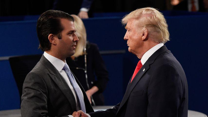 Donald Trump Jr. und sein Vater Donald Senior