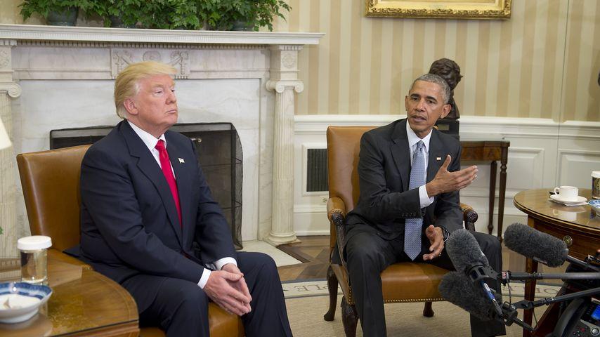 1. Treffen nach US-Wahl: Donald Trump ist genervt von Obama