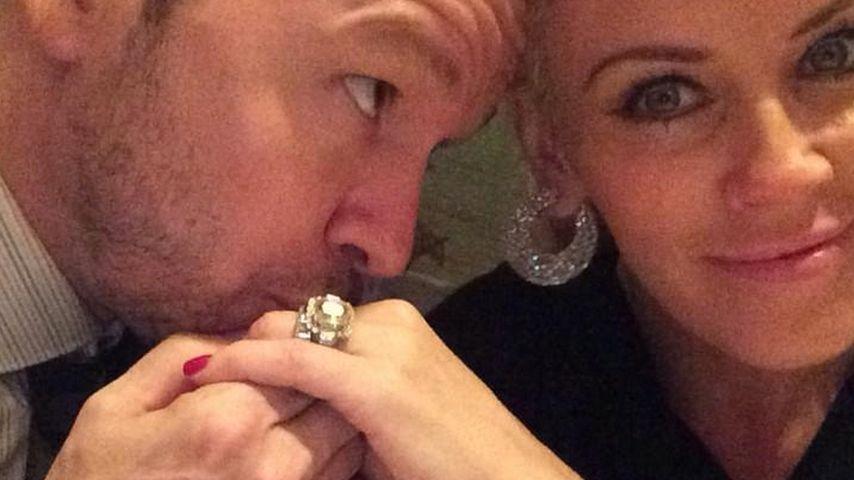 Küss die Hand: Mr. & Mrs. Wahlberg im Liebeshimmel