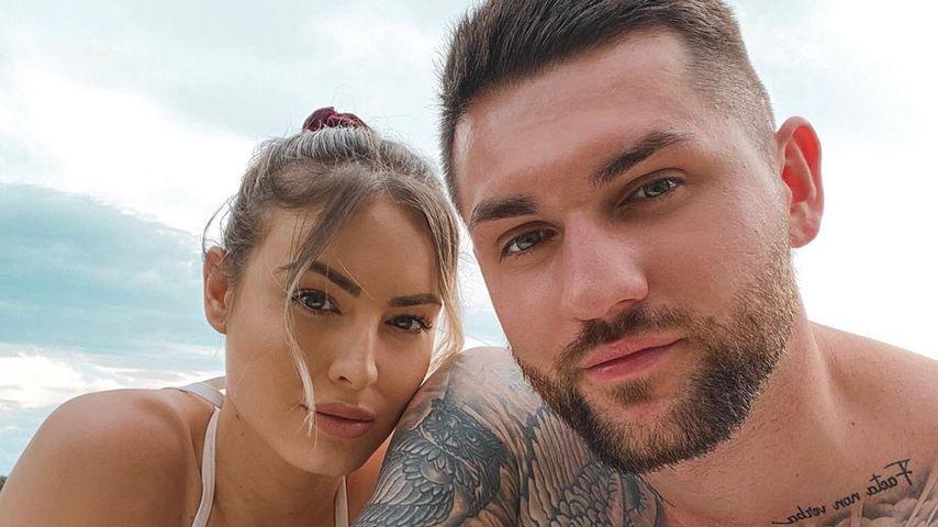 Doreen Petrova und ihr Freund Piotr Paluch im Juni 2020