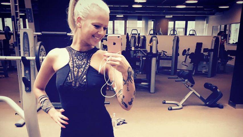 Doreen Steinert beim Sport