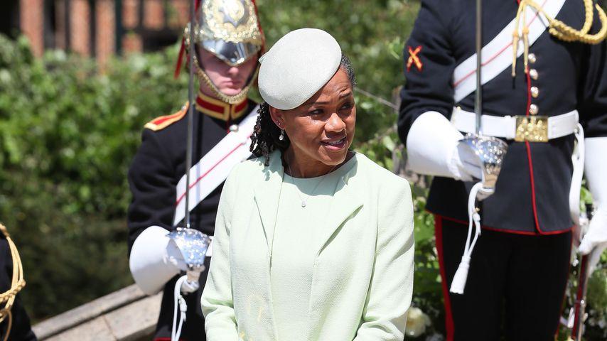 Doria Ragland bei der Hochzeit von Prinz Harry und Herzogin Meghan im Mai 2018