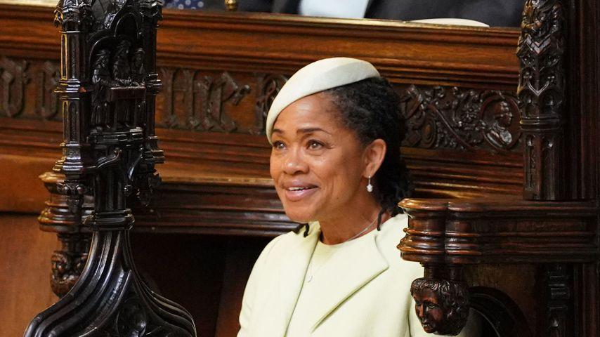Doria Ragland bei der Royal-Wedding