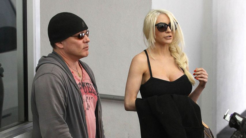 Doug Hutchison und Courtney Stodden in Los Angeles