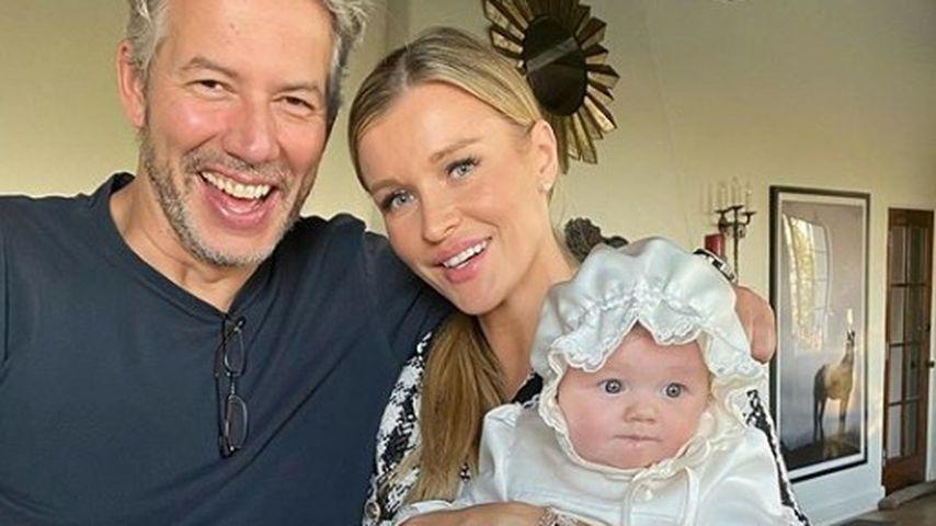 Douglas Nunes und Joanna Krupa mit ihrer Tochter