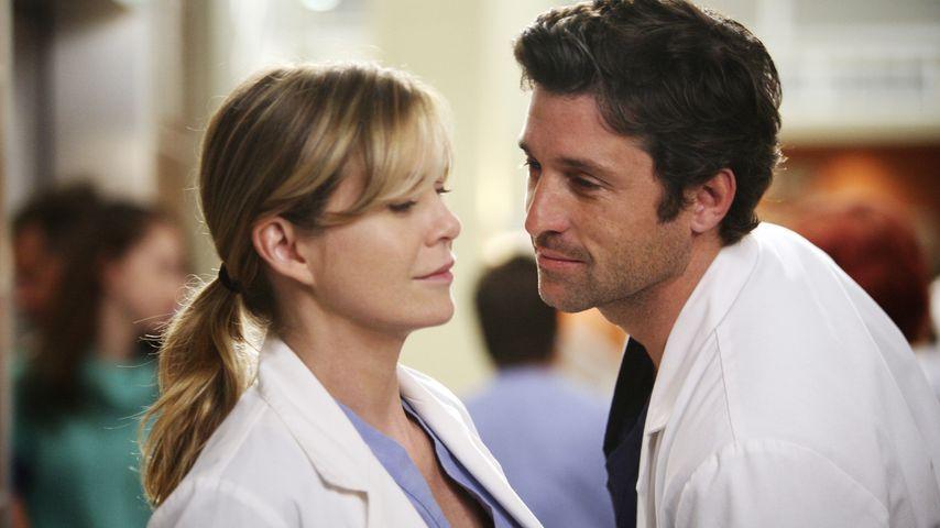 """Meredith (Ellen Pompeo) und Derek (Patrick Dempsey), """"Grey's Anatomy""""-Charaktere"""