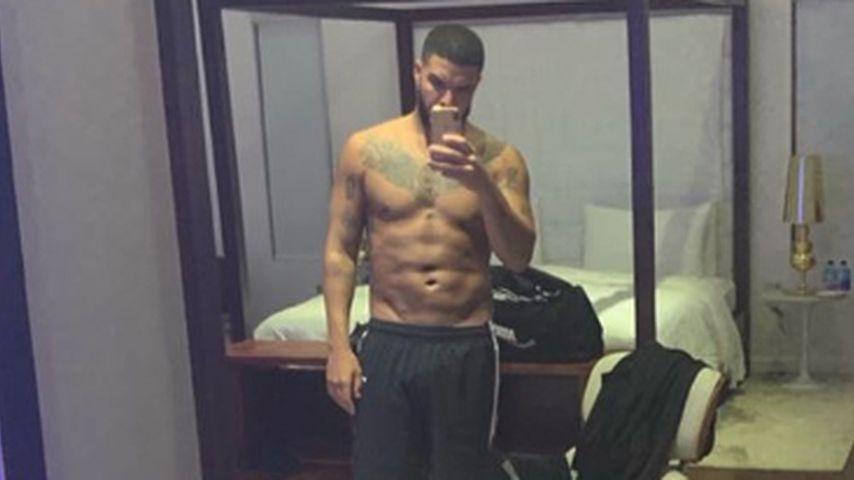 Dank Training: Rapper Drake zeigt seinen supersexy Sixpack!