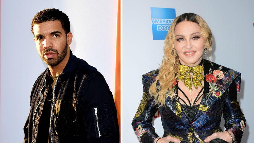 Vor Coachella-Kuss: Hatten Drake & Madonna etwa eine Affäre?
