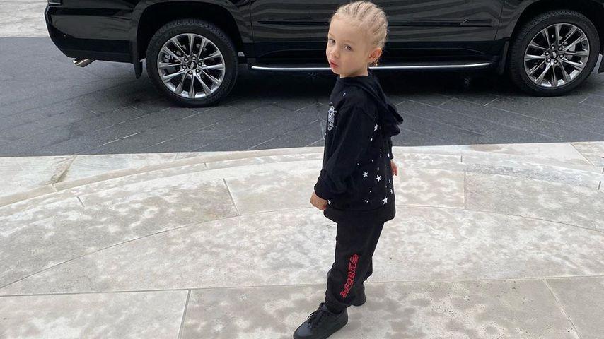 Drakes Sohn Adonis im September 2020