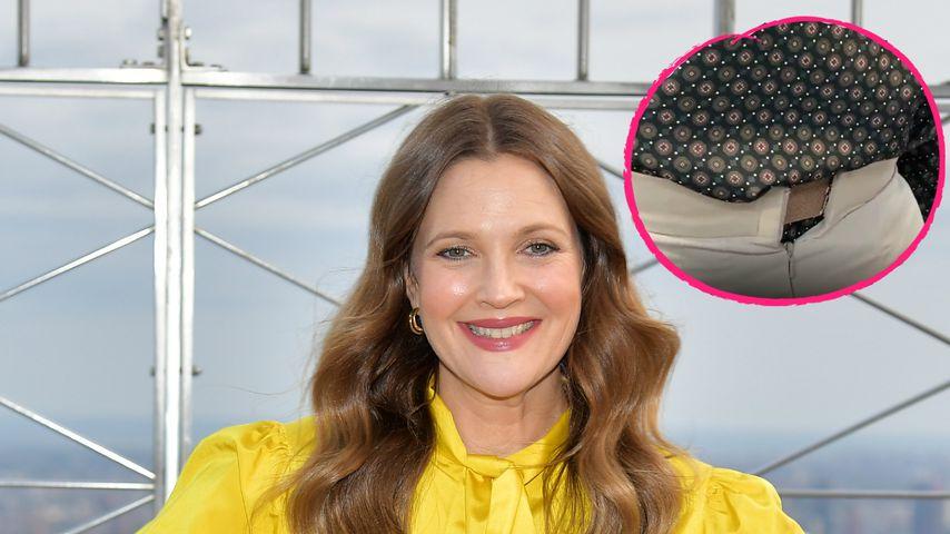 Ups! Filmstar Drew Barrymore passt nicht mehr in ihre Hose