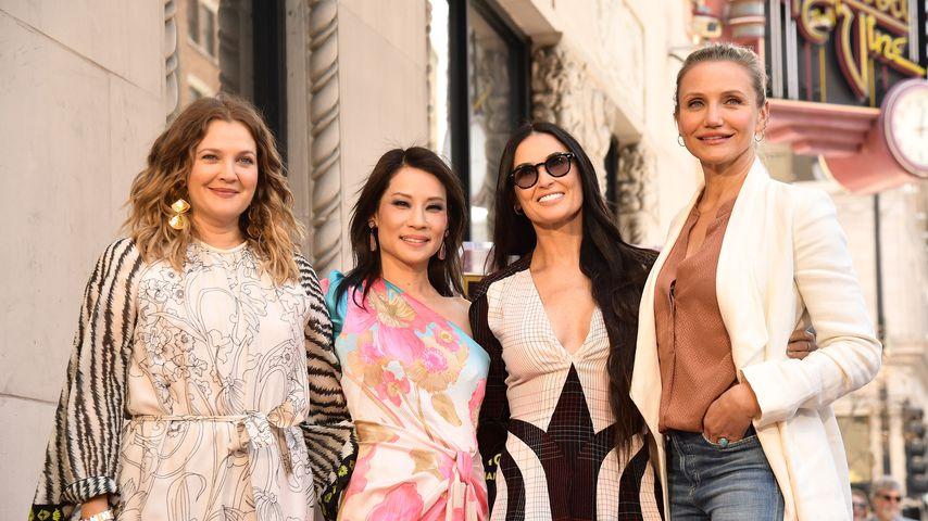 Drew Barrymore, Lucy Liu, Demi Moore und Cameron Diaz