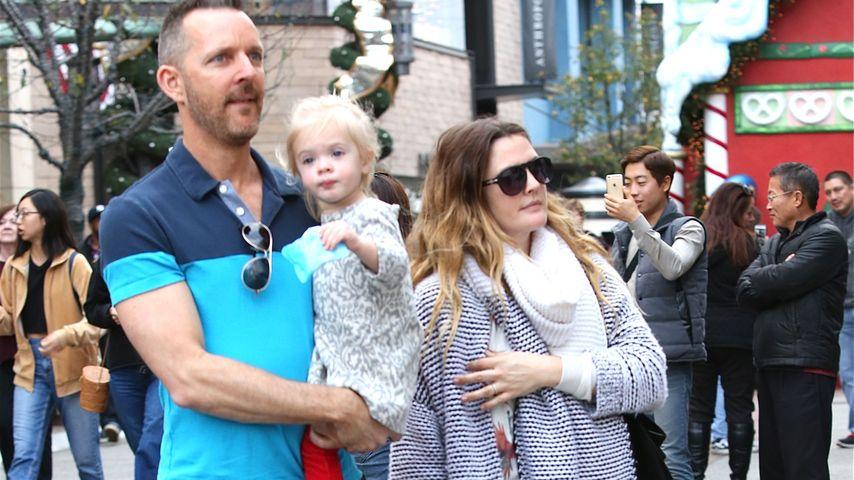 Im Mama-Glück: So groß ist Drew Barrymores Tochter schon
