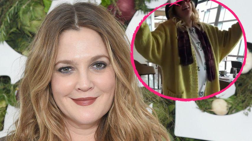 Mit 43 wieder schwanger? Drew Barrymore mit Bäuchlein