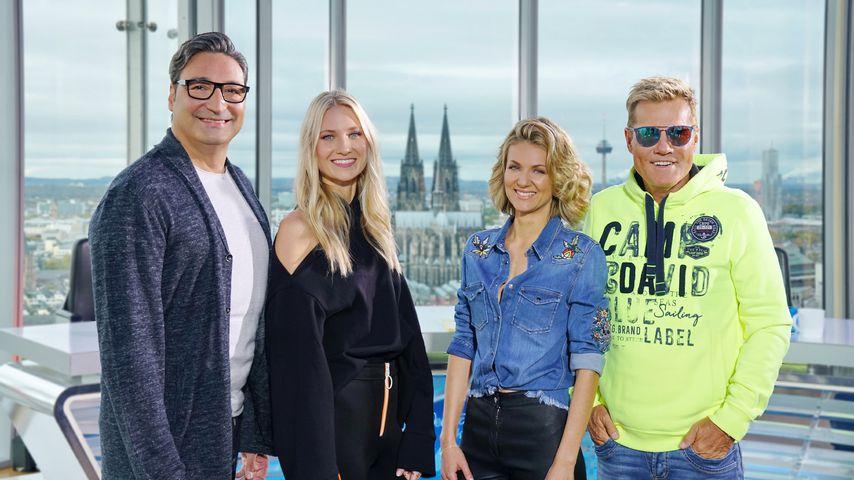DSDS-Jury Mousse T., Carolin Niemczyk, Ella Endlich und Dieter Bohlen