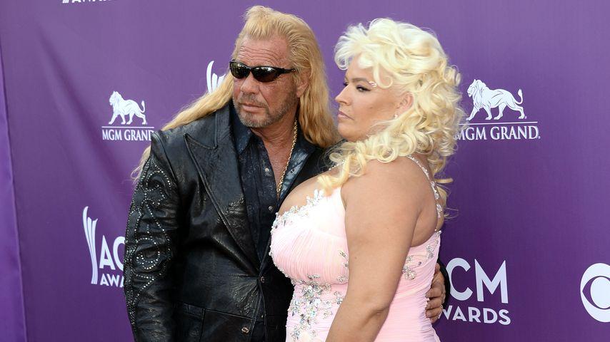 Duane Chapman und seine Frau Beth im Jahr 2013