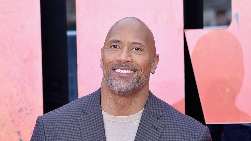 """Dwayne """"The Rock"""" Johnson bei der Premiere von """"Rampage"""""""