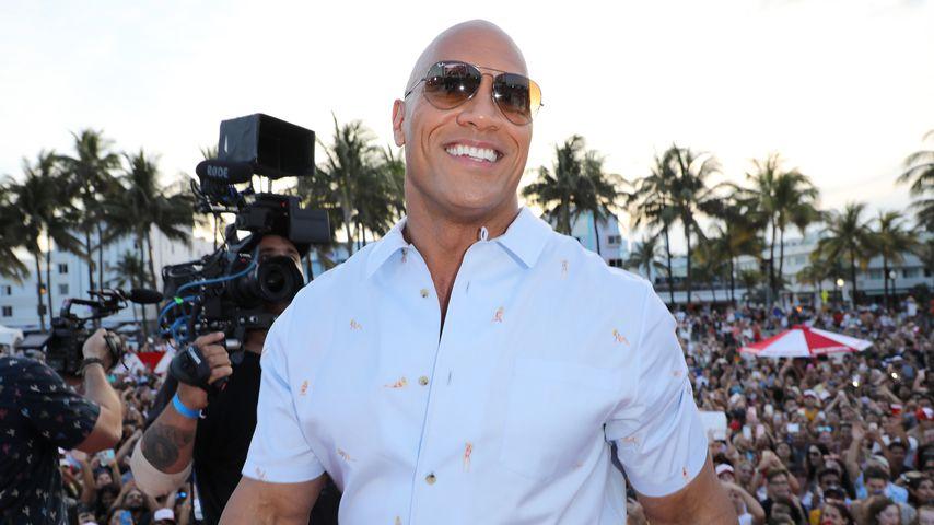 """Dwayne Johnson bei der """"Baywatch""""-Premiere in Miami"""